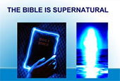 bible is supernatural